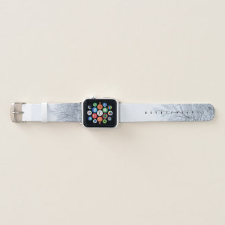 Ice Covered Trees Apple Watch Band