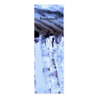 Ice Covered Wire Mini Business Card