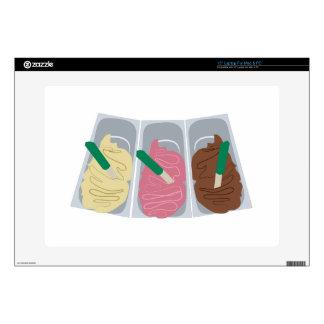 """Ice Cream 15"""" Laptop Decals"""