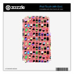 Ice Cream All Over – Colorful Repeating Pattern Decals For iPod Touch 4G