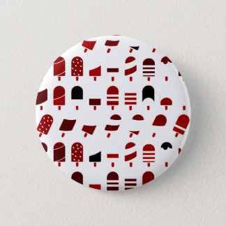 Ice Cream All Over – Colorful Repeating Pattern Pinback Button