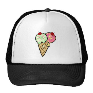 Ice Cream All Products Mesh Hats