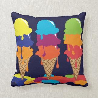 Ice Cream Throw Pillows : Icecream Pillows - Decorative & Throw Pillows Zazzle