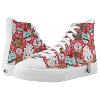 ice cream and cake High-Top sneakers