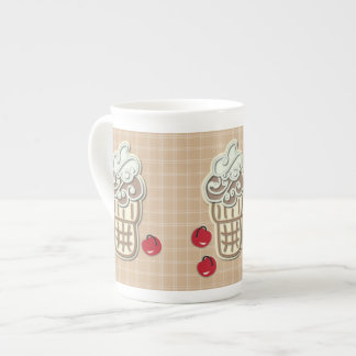 Ice Cream and Cherries Tea Cup