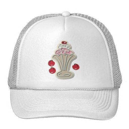 Ice Cream and Cherries Trucker Hat