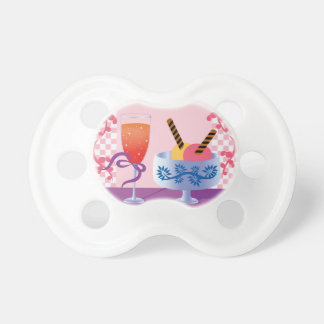 Ice Cream and Cocktail BooginHead Pacifier