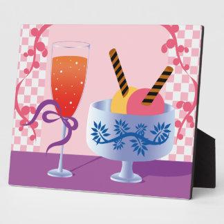 Ice Cream and Cocktail Plaque
