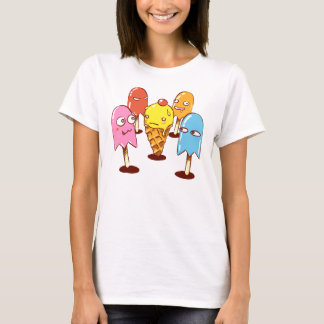 ice-cream and ghost-lollies T-Shirt