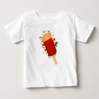 Ice cream and spots baby T-Shirt