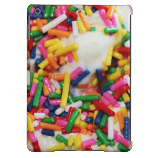 Ice cream and sprinkles cute foodie sweets candy cover for iPad air