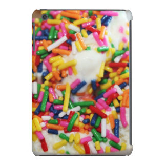 Ice cream and sprinkles cute foodie sweets candy iPad mini cases