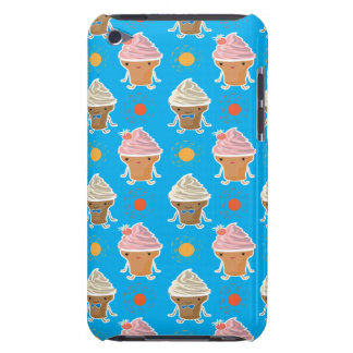 ice cream and sun bath patterns iPod touch Case-Mate case