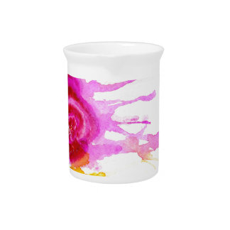 Ice Cream Art Beverage Pitcher