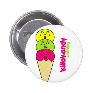 Ice-Cream Badge :) Pinback Button