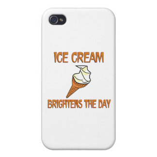 Ice Cream Brightens the Day Cases For iPhone 4