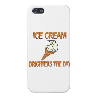 Ice Cream Brightens the Day iPhone 5/5S Cover