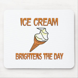 Ice Cream Brightens the Day Mouse Pad