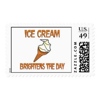 Ice Cream Brightens the Day Postage
