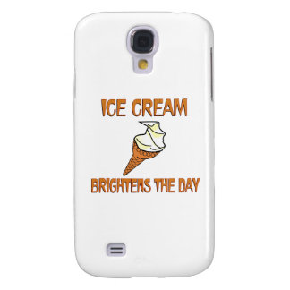 Ice Cream Brightens the Day Samsung Galaxy S4 Cover