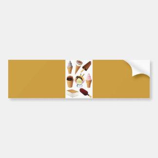 Ice Cream Bumper Stickers