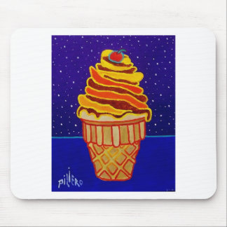 Ice Cream by Piliero Mouse Pad