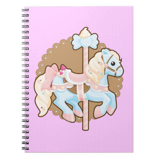 Ice Cream Carousel Notebook