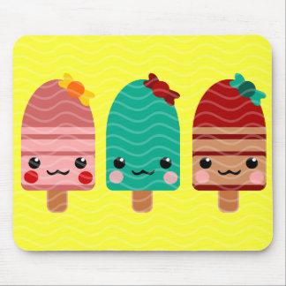 ice cream chocolate mouse pads