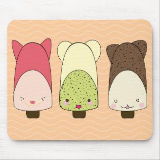 ice cream chocolate mousepad