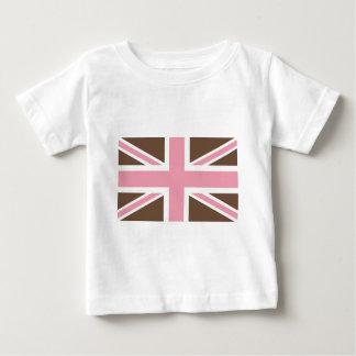 Ice-cream Classic Union Jack British(UK) Fla Baby T-Shirt