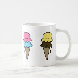 Ice Cream Coffee Classic White Coffee Mug