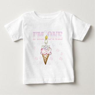 Ice Cream Cone 1st Birthday Tshirts