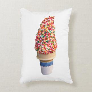 Ice Cream Cone Accent Pillow