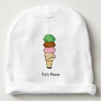 Ice Cream Cone Baby Beanie