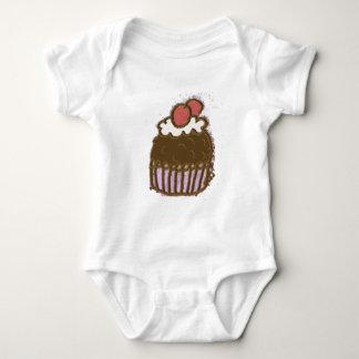 Ice Cream Cone Baby Bodysuit