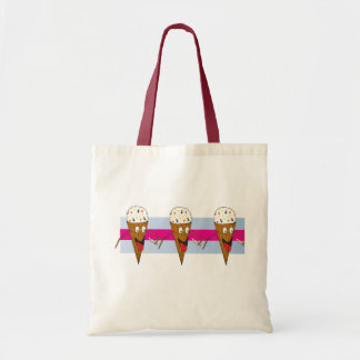 Ice Cream Cone Bag Budget Tote Bag
