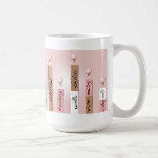 Ice Cream Cone Bar Graph Mug