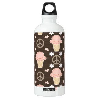 Ice Cream Cone BPA Free Aluminum Water Bottle