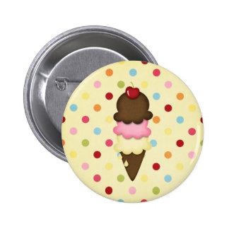 ice cream cone button
