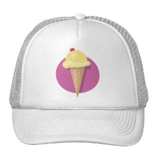 Ice Cream Cone - Customizable Mesh Hats