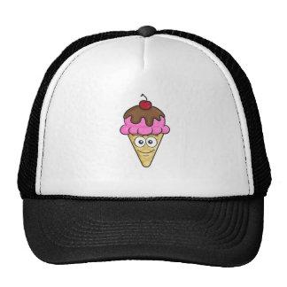 Ice Cream Cone Emoji Trucker Hat