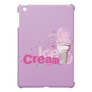 Ice Cream Cone Food Desserts Sweet Snack Love Cover For The iPad Mini