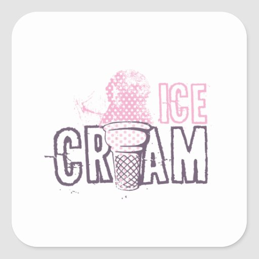 Ice Cream Cone Food Desserts Sweet Snack Love Stickers