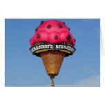 Ice Cream Cone Hot Air Balloon Cards