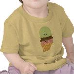 Ice Cream Cone Kawaii Art T-shirt