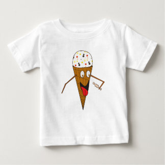 Ice Cream Cone Licking a Person Baby T Baby T-Shirt