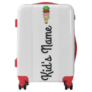 Ice Cream Cone Luggage