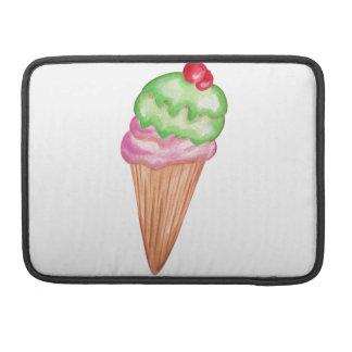 Ice Cream Cone Sleeves For MacBooks