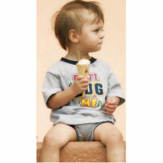 Ice Cream Cone Standing Photo Sculpture