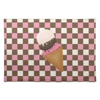 Ice Cream Cone Placemat
